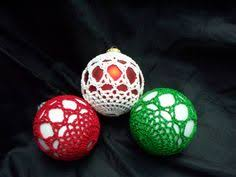 free crocheted ornament cover patterns crochet