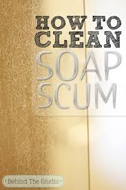 How To Get Shower Doors Clean How To Clean Soap Scum Glass Doors With A Diy Cleaner