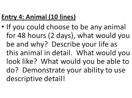 if you could be any animal ppt download