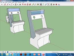 arcade cabinet plans pdf nu gen build cabinets and projects hyperspin forum