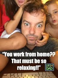 Working From Home Meme - how to work from home with kids