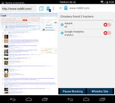 ghostery android ghostery releases privacy browser for android ghacks tech news