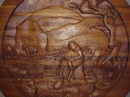 wood carving with kevin midthun