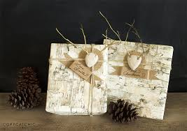 birch wrapping paper pretty package inspiration for the holidays copycatchic