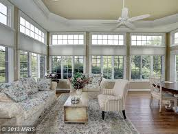 traditional living room with high ceiling light in