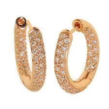 gold earrings in shape world style gold diamond earrings