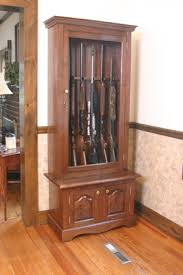 How To Build A Display Cabinet by Build A Gun Trophy Case Extreme How To