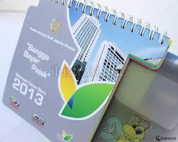 desain kalender meja keren kalender meja kanwil djp jakarta khusus www ilustrasi net