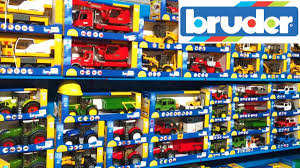 bruder toys bruder toys news unboxing and shop visit youtube