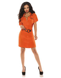convict halloween costumes lock up prisoner womens halloween costume ebay