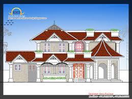 beautiful home elevation 2250 sq ft kerala house design idea