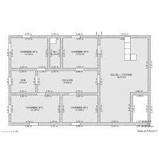 plan maison plain pied en l 4 chambres 18 inspirant plan maison plain pied 4 chambres 150m2 idées de