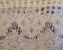 Lace Cafe Curtains Lace Cafe Curtains Etsy