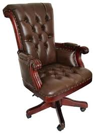 Traditional Leather Armchairs Uk Brown Leather Office Chairs U2013 Adammayfield Co