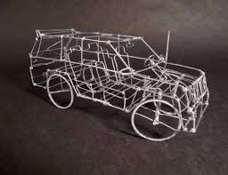 wire sculpture by ailton correia wire sculpture pinterest