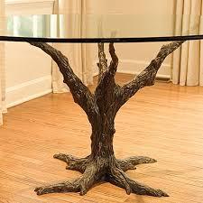 corbin bronze dining table tree branch exclusive bronze