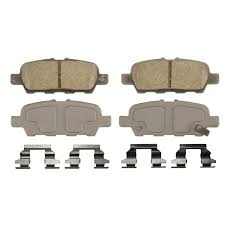 nissan altima coupe brake pads amazon com wagner thermoquiet qc1393 ceramic disc pad set with