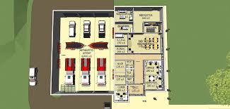 Fire Station Floor Plans Emergency Services Center South Hanover Township