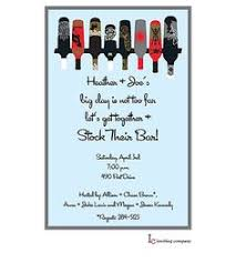 stock the bar shower wording invitation for the stock the bar party engagement