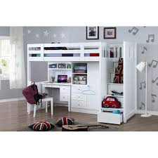 Bunk Beds With Wardrobe My Design Bunk Bed K Single W Stair Desk W Hutch Wardrobe 104037