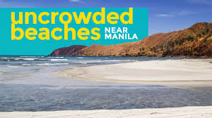 10 unspoiled uncrowded beaches near manila the poor traveler blog