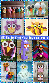 10 cute owl crafts for kids u2013 the pinterested parent