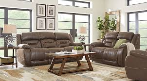 Cheap Living Room Furniture Manual Power Reclining Living Room Sets With Sofas
