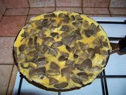 cuisiner les pleurotes recette omelette aux pleurotes 750g