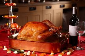 thanksgiving was a real turkey until someone learned to cook