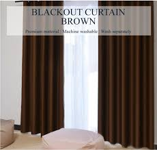 Brown Blackout Curtains Eyelet 99 Coverage Blackout Curtains Solid Brown
