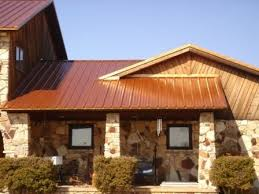 copper colored metal roof for the home pinterest metal roof