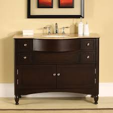 amazon com silkroad exclusive single sink bathroom vanity with