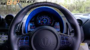 koenigsegg one blue the bhp project u0027s blue koenigsegg one 1 megacar dashboard
