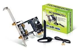 Wifi Card Gigabyte Model Gc Wb867d I Ver 2 Bluetooth 4 0 Wifi Expansion