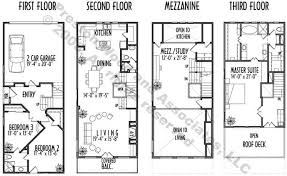 townhome plans townhome plan c8271 u4
