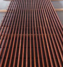 wooden suspended ceiling panel acoustic wire spigoline