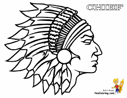 indian coloring pages eson me