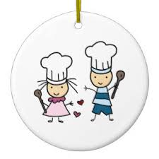 kid chef ornaments keepsake ornaments zazzle