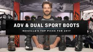 where to buy motorcycle boots best dual sport u0026 adventure motorcycle boots 2017 at revzilla com