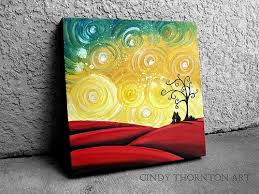 easy canvas paintings for beginners step by step google search
