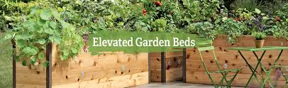 Raised Garden Bed With Bench Seating Elevated Garden Beds Raised Vegetable Gardens Gardeners Com