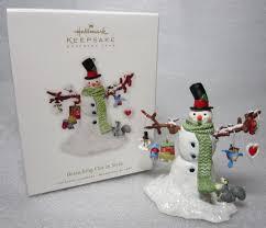 1 x hallmark 2010 keepsake ornament club branching out in style