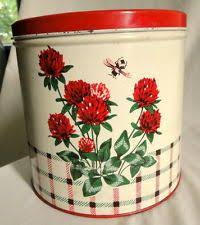 tin kitchen canisters set of 4 vintage gingham bow tin kitchen canisters ribbon farm