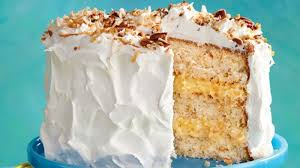 coconut pecan layer cake recipe bettycrocker com