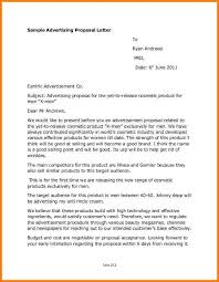 10 advertising proposal letter sample proposal template 2017