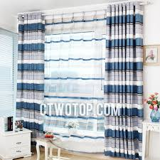 Blue And Striped Curtains Casual Classic Half Price Unique Blue And Gray Striped Curtains