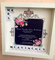wedding gift etsy wedding ideas etsy wedding presents memory frame personalised