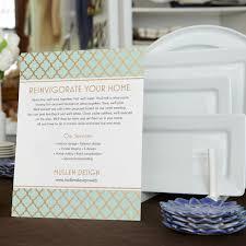 custom tabletop signs vistaprint