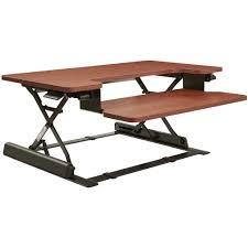 Bean Bag Laptop Desk by Height Adjustable Desk Riser In Desks And Hutches