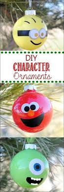 glass character ornaments 36 adorable diy ornaments you can